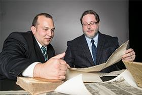 Dr. John Chuchiak and Justin Duncan