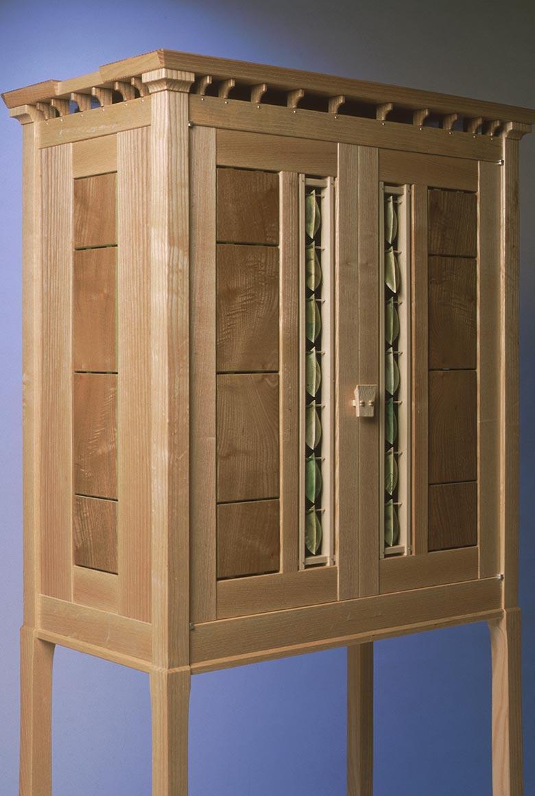 Silver Leaf cabinet
