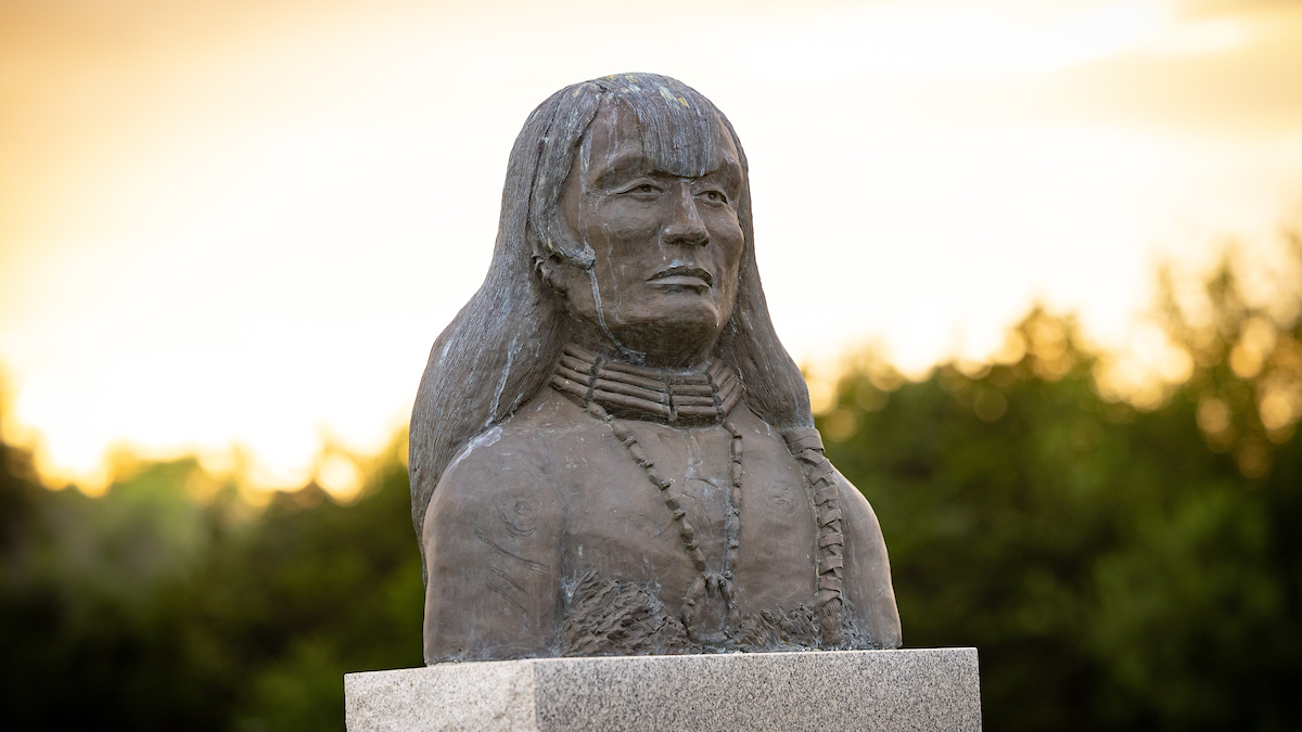 Bust of Native American