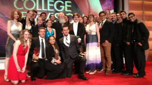 Missouri State student group at the College Emmys