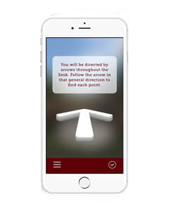 The SEEK app offers new students a fun and interactive way to explore campus.