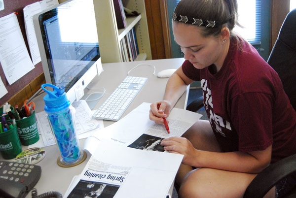 Nicole Roberts edits her first issue as The Standard's new editor-in-chief.