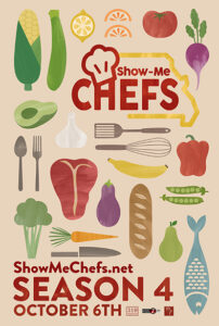 """Show-Me Chefs"" Season 4 Premier Poster Art"