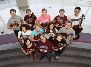 MSU Chamber Orchestra trip to China