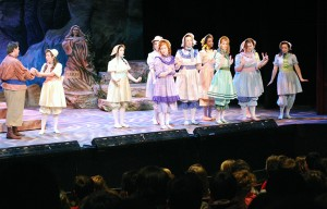 Pirates of Penzance performance in Craig Hall's Coger Theatre