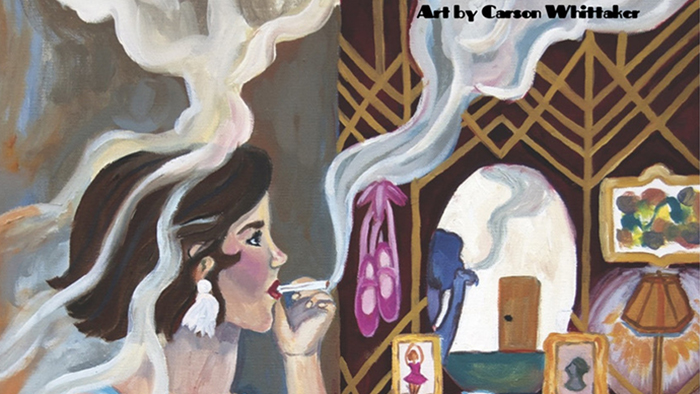 poster for the MSU Opera Theater event Ghosts of Gatsby