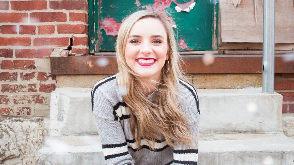 Lauren Stockam smiling.