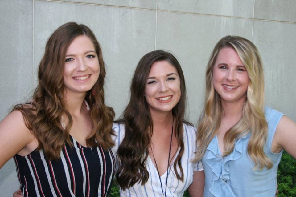 Allie and her sisters, Gabbe and Maddy