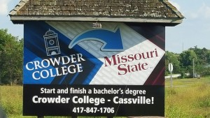 Crowder College Transfer Billboard
