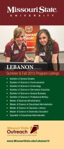 Lebanon tri-fold