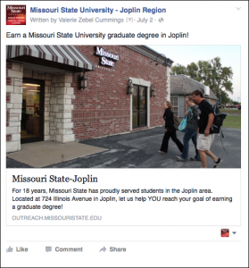 Su:Fa 2015 FB Joplin Degree Programs
