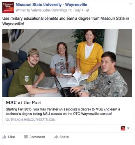 Su:Fa 2015 FB Waynesville Campus Promotion