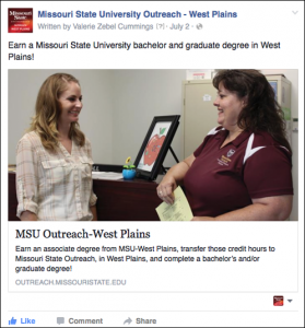 Su:Fa 2015 FB West Plains Degree Programs