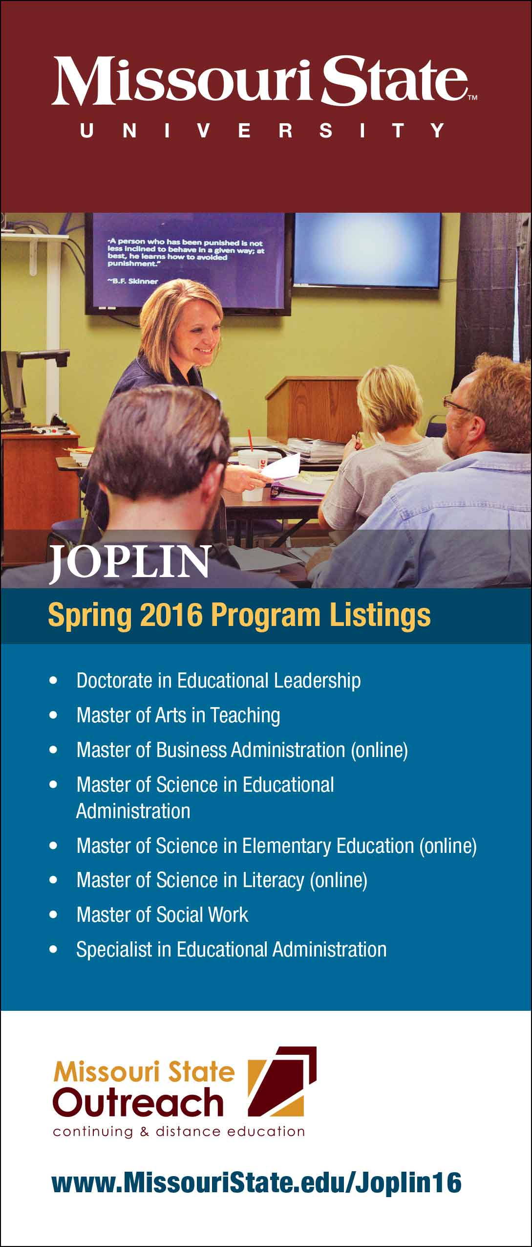 Spring 2016 off-campus program brochures available now