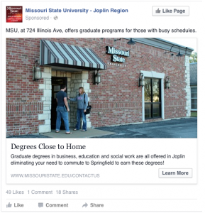 Degrees Close to Home - MSU, at 724 Illinois Ave., offers graduate programs for those with busy schedules.