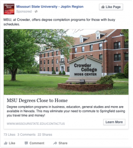 MSU Degrees Close to Home. MSU, at Crowder, offers degree completion programs for those with busy schedules.