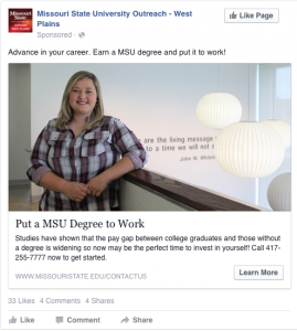 Put a MSU Degree to Work - Advance in your career. Earn a MSU degree and put it to work!