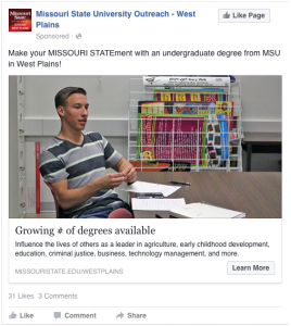 WP Growing # of Degrees Available