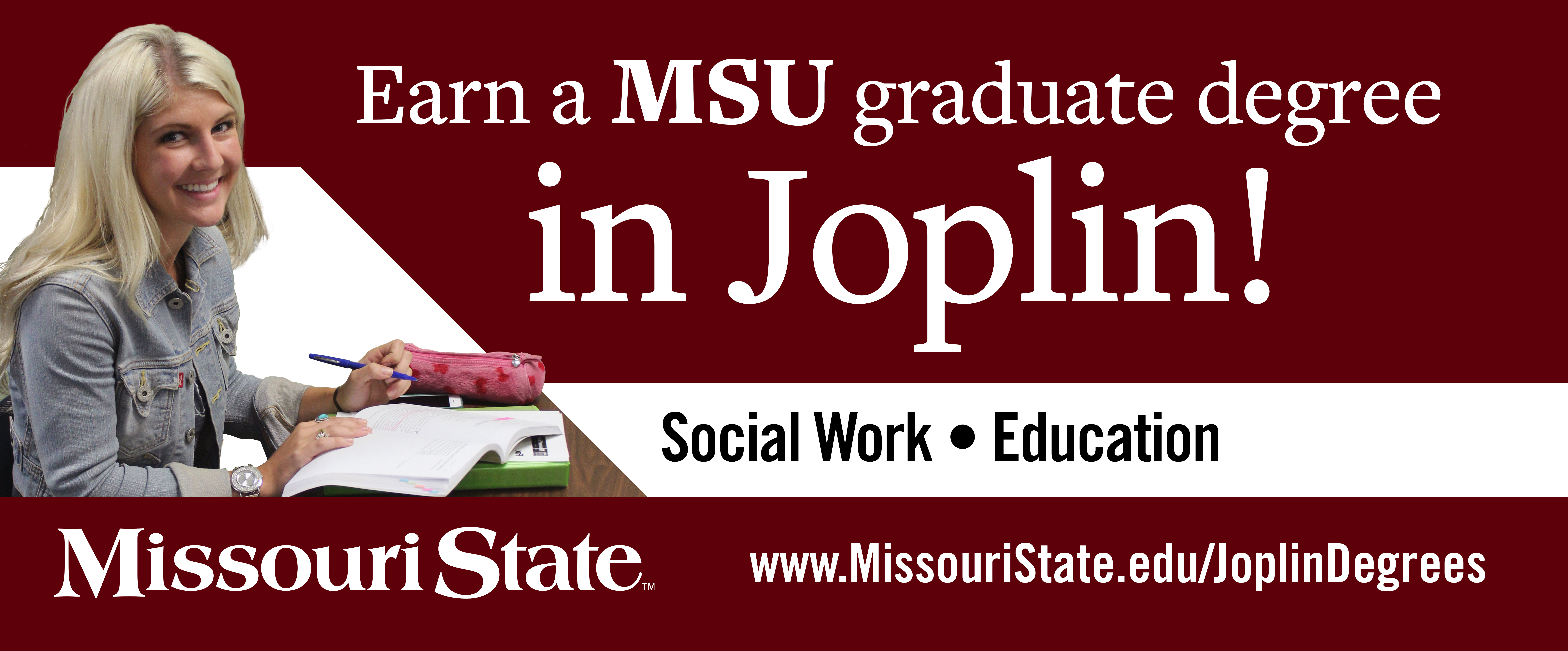 Master of Social Work Spring 2017 Campaign