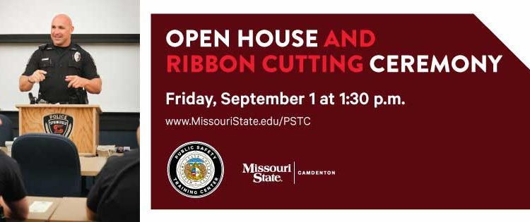 Open House / Ribbon Cutting Ceremony for Public Safety Training Center / MSU-Camdenton Social Media Kit