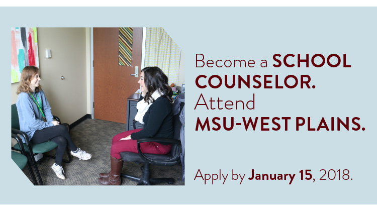 West Plains M.S. in Counseling Media Kit