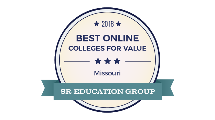 Badge for Best Online Colleges for Value