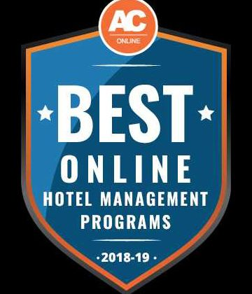 Online hotel management degree recognized as one of the best