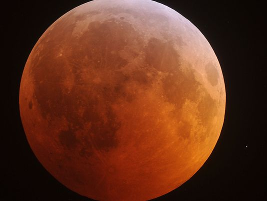Sunday's Total Lunar Eclipse and Supermoon