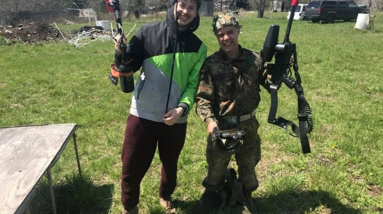 PLS Asserts Paintball Victory
