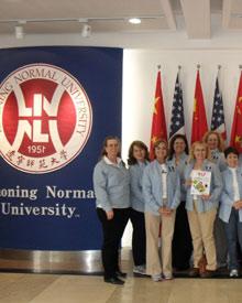 USA alumni at China campus