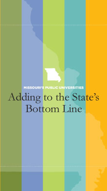 Missouri State Universities---Adding to the Bottom Line