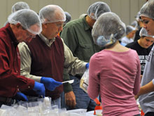 Volunteers supporting Meals a Million