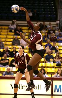 Lady Bear volleyball