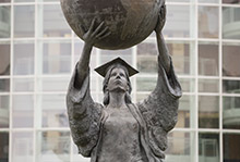 Citizen Scholar statue