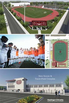 Soccer, Track and Field Complex
