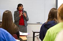 Social work professor