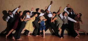Dance company featuring Darrell Hyche