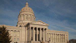 Missouri Capitol building January 28, 2015