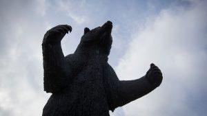 Bear statue