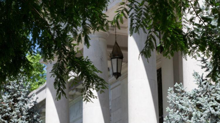 Siceluff Hall columns