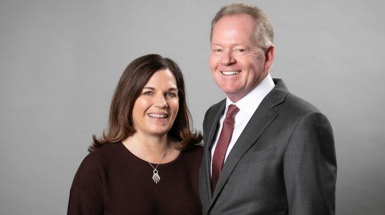 Bobby and Becky Petrino