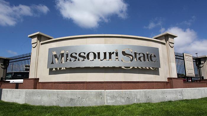 Missouri State sign