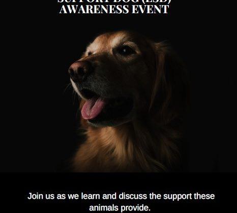 Psychology Club Event: Service Dog/ Emotional Support Dog Awareness
