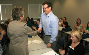 Ken Rutherford awarded Public Affairs Professorship