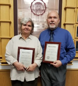 Shows the 2019 faculty awardees