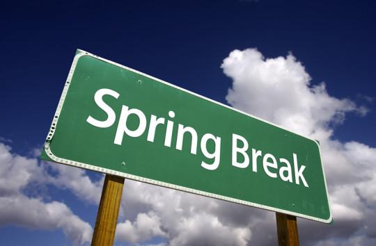 Saving For Spring Break