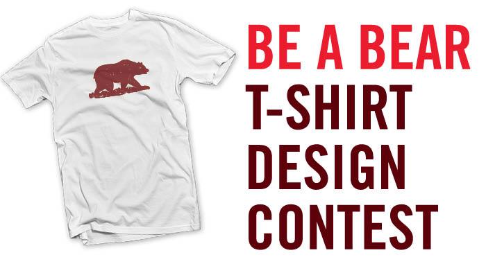Bear Pride. Wear it Proud. Design it Now!