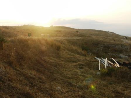 Morning Dawn at tel Gezer