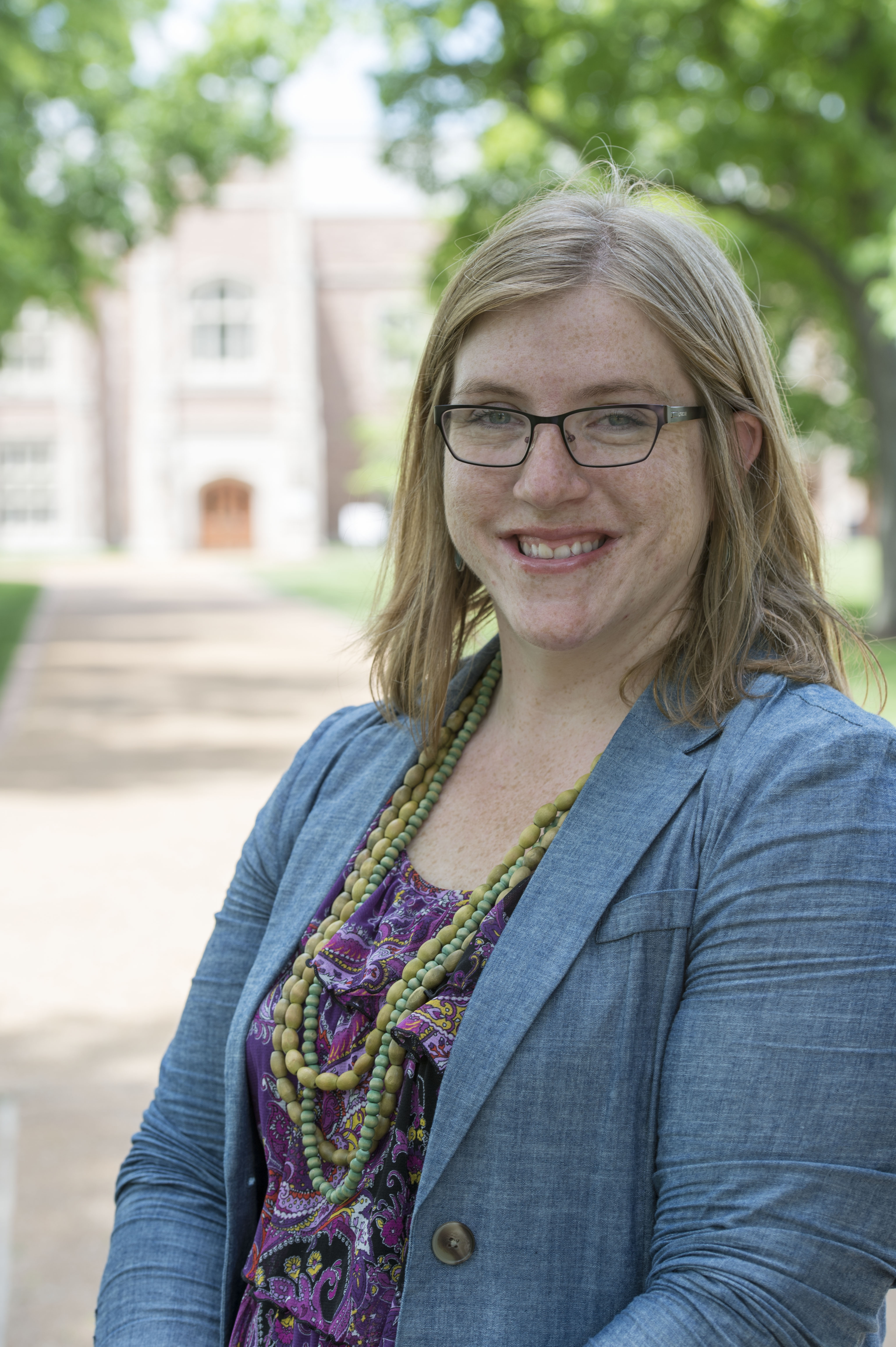 REL Alumna Hits the Ground Running at Danforth Center