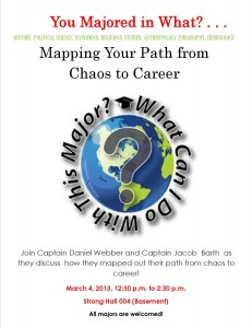From Chaos to Career